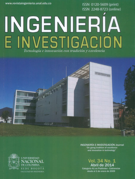 Ingeniería e Investigación Vol. 34 No. 1