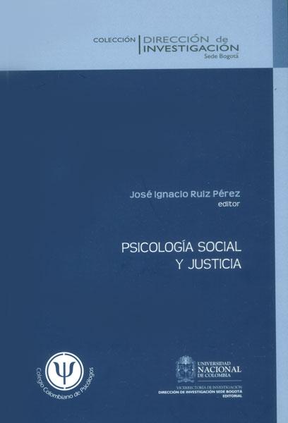 Psicología social y justicia
