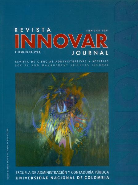 Innovar No. 54, Vol. 24. Revista de Ciencias Administrativas y Sociales