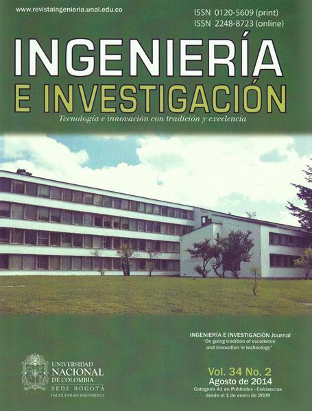 Ingeniería e Investigación Vol. 34 No. 2