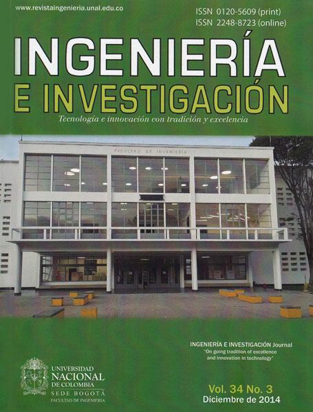 Ingeniería e Investigación Vol. 34 No. 3
