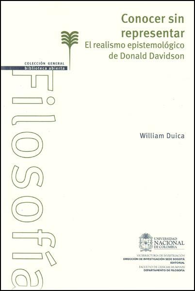 Conocer sin representar. El realismo epistemológico de Donald Davidson