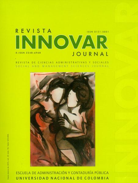 Innovar No. 55, Vol. 25. Revista de Ciencias Administrativas y Sociales