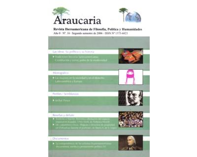 Araucaria. Revista Iberoamericana de Filosofía, Política y Humanidades. Año 8. No. 16
