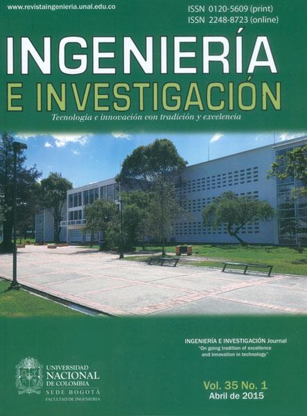 Ingeniería e Investigación Vol. 35 No. 1