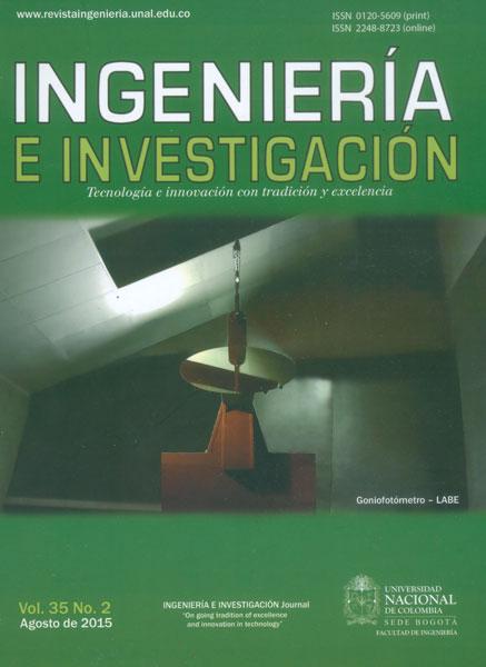 Ingeniería e investigación Vol. 35 No. 2