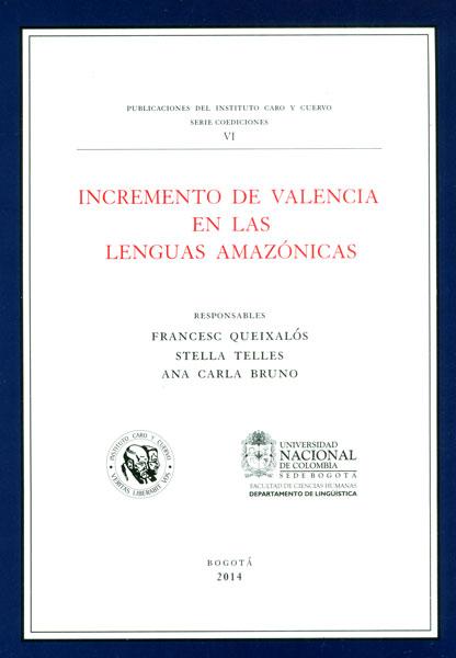 Incremento de valencia en las lenguas amazónicas
