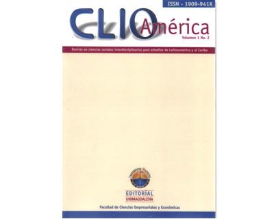 Clío América. Vol 1. No 2