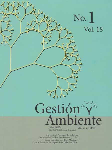 Gestion y ambiente N°.1 vol. 18