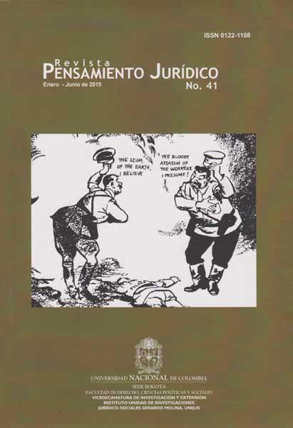Revista pensamiento juridico N° 41