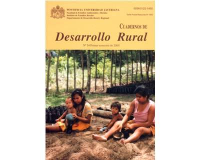Cuadernos de Desarrollo Rural. No. 54