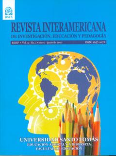 Revista Interamericana de Investigación, Educación y Pedagogía. No. 1 Vol. 3