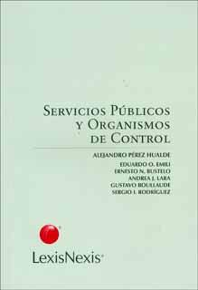Servicios públicos y organismos de control