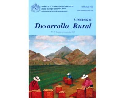 Cuadernos de Desarrollo Rural. No. 55