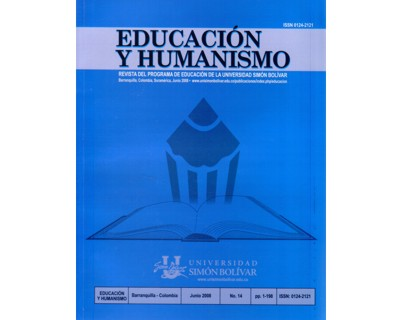 Revista Educación y humanismo Vol. 14. No. 1