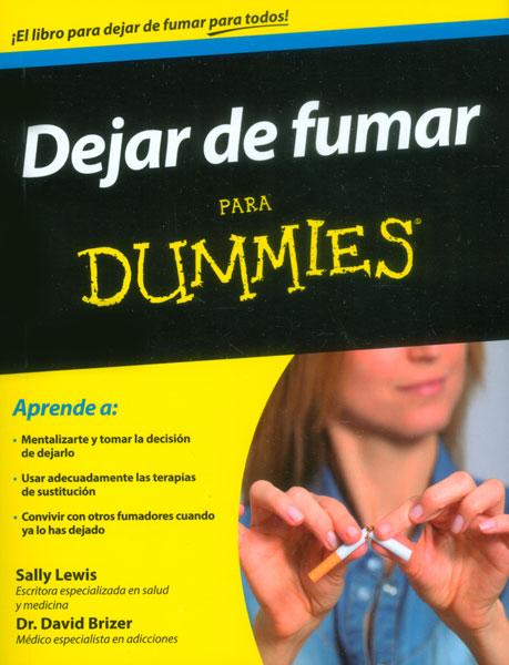 Dejar de fumar para dummies - Sally Lewis - [Multiformato]