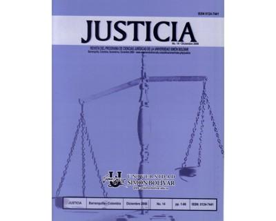 Revista Justicia No. 14