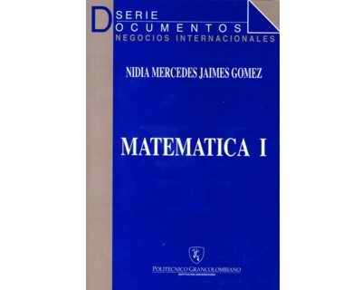 Matemática I para Negocios Internacionales