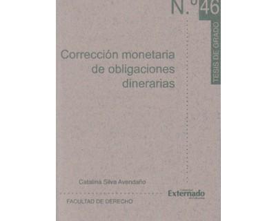 Corrección monetaria de obligaciones dinerarias