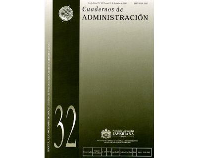 Cuadernos de Administración. No. 32 Vol. 19