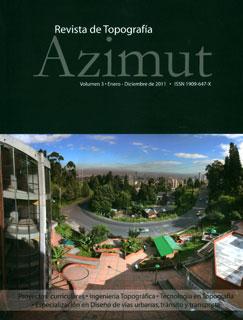 Azimut. No. 3. Revista de Topografía