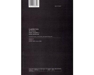 Cuadernos de música, artes visuales y artes escénicas. Vol 2 No. 1