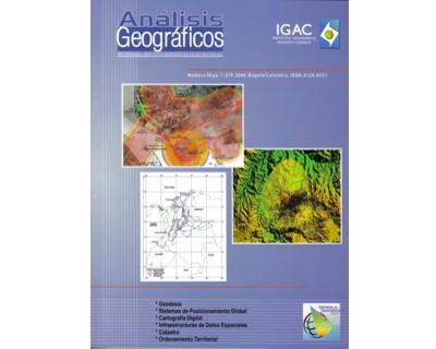 Análisis Geográficos No. 30.