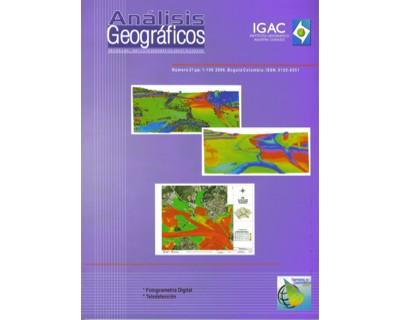 Análisis Geográficos No. 31. Fotogrametría Digital. Teledetección
