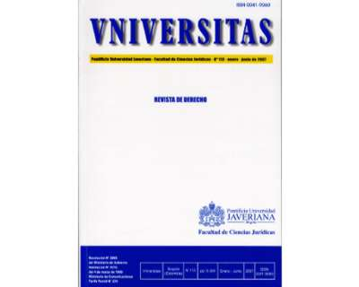 Universitas Jurídica 113