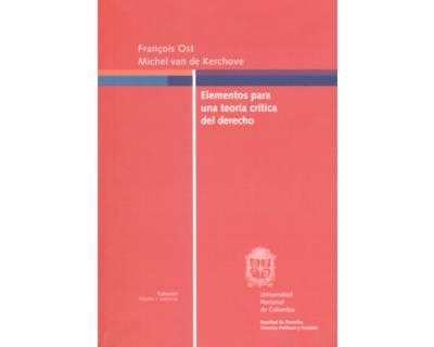Elementos para una teoría crítica del derecho