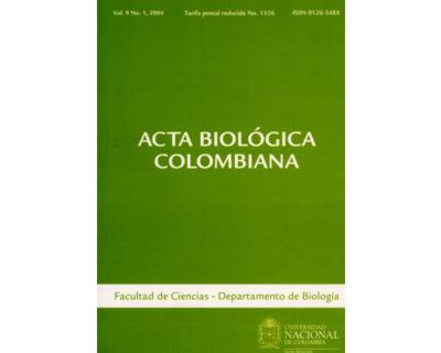 Acta Biológica Colombiana. Vol. 09 No. 1