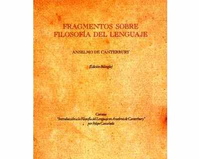 Fragmentos sobre filosofía del lenguaje