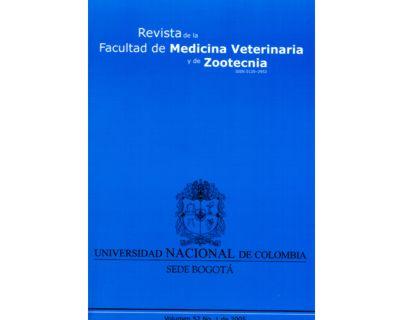 Revista de la Facultad de Medicina Veterinaria y de Zootecnia. No. 1 Vol. 52