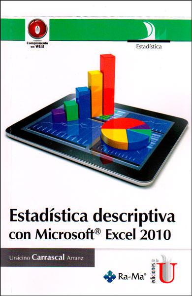 Estadística descriptiva con Microsoft Excel 2010