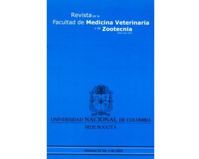 Revista de la Facultad de Medicina Veterinaria y de Zootecnia. No. 2 Vol. 52