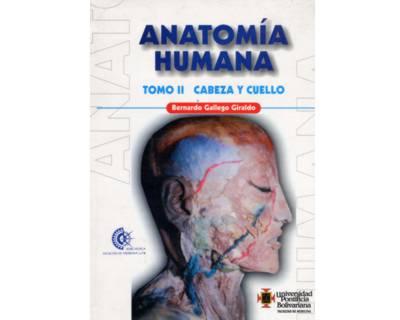 Libro Impreso Anatomía Humana. Tomo II. Cabeza y Cuello U ...