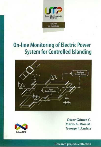 On- line Monitoring of electric power system for controlled islanding