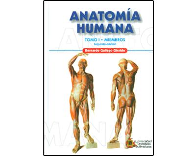 Libro Impreso Anatomía Humana. Tomo I. Miembros U. Pontificia ...