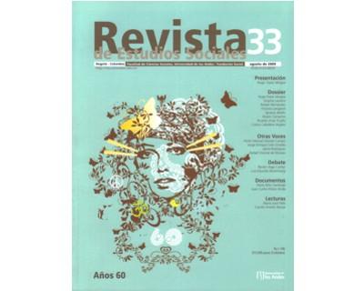 Revista de Estudios Sociales No. 33. Años 60