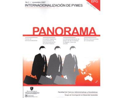 Panorama No. 3. Internacionalización de Pymes