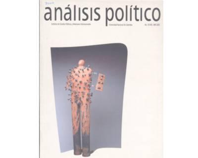 Análisis Político No. 39