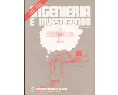 Ingeniería e Investigación No. 15. Número especial: humor y turbinas
