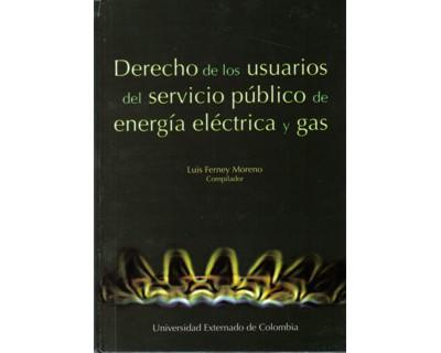 Derecho de los usuarios del servicio público de energía eléctrica y gas