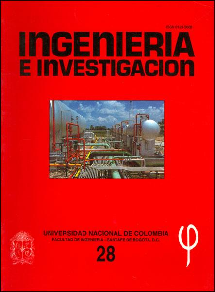 Ingeniería e Investigación No. 28