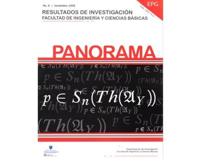 Panorama No. 6. Resultados de investigación. Facultad de Ingeniería y Ciencias Básicas