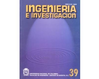 Ingeniería e Investigación No. 39