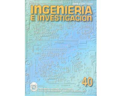 Ingeniería e Investigación No. 40