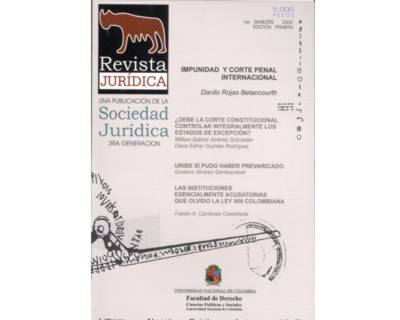 Revista Jurídica No. 1