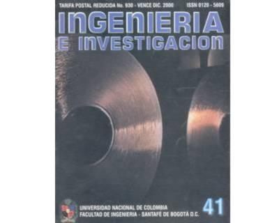 Ingeniería e Investigación No. 41