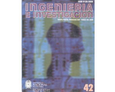 Ingeniería e Investigación No. 42